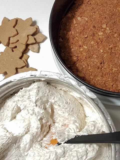 joulu uusi vuosi juustokakku piparkakku leivonta liivaatteeton