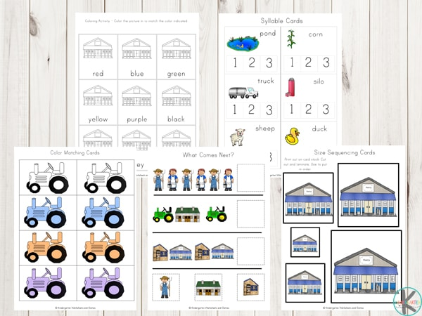 farm-printables-preschool-kindergarten-first-grade