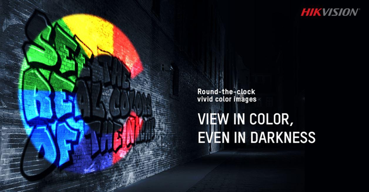 La cámara ColorVu de Hikvision captura imágenes a color brillantes en la  oscuridad 110f10648ee9