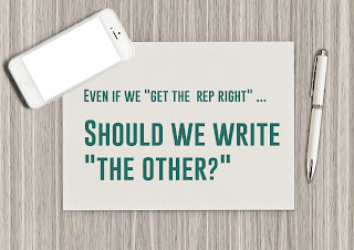 Even if we get the representation right,  should we write the other?
