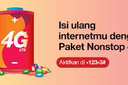 Info Terbaru Paket Internet Three 4G Nonstop