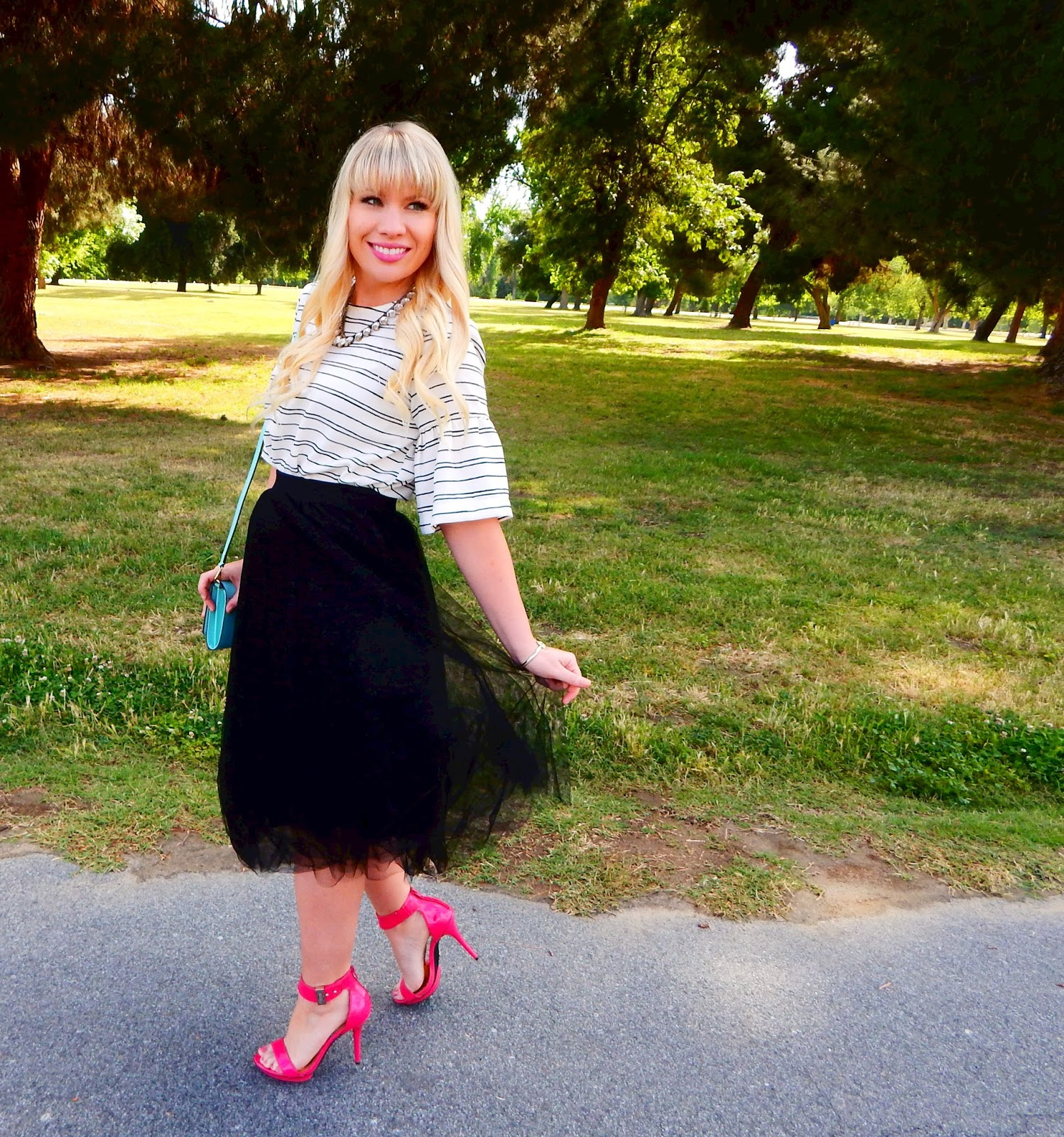 Stripes & Tulle…and some life changes