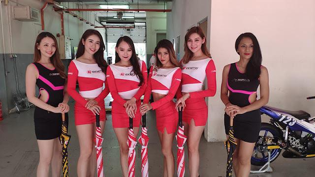 Seksi Dan Cantiknya Gadis Payung ARRC 2019 Malaysia