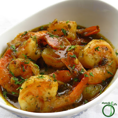 Featured Recipe | Garlic Butter Shrimp from Morsels of Life #recipe #SecretRecipeClub #shrimp #garlic