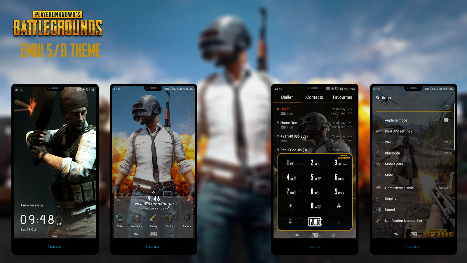 Pubg Theme For Emui 5 8 Get It Now Special Edition Emui Theme