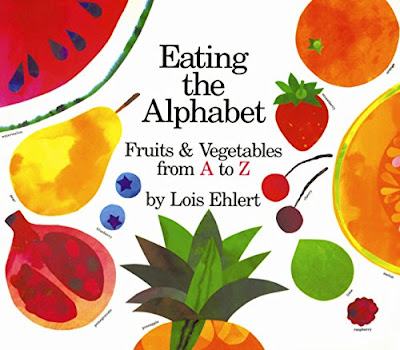 Eating The Alphabet, part of children's book review list about healthy eating