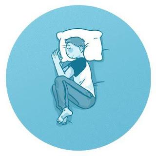 Tidur posisi janin