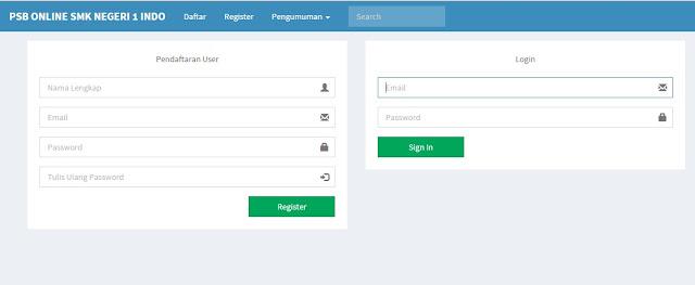 Pendaftaran PSB Online