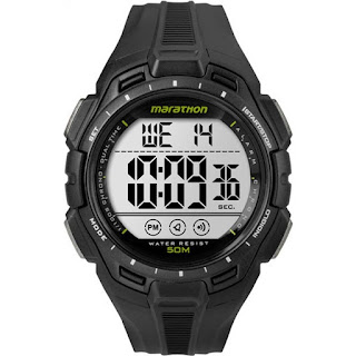 Timex TW5K94800 Digital Full Marathon Black Chrono