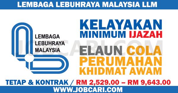 JOBCARI LEMBAGA LEBUHRAYA MALAYSIA