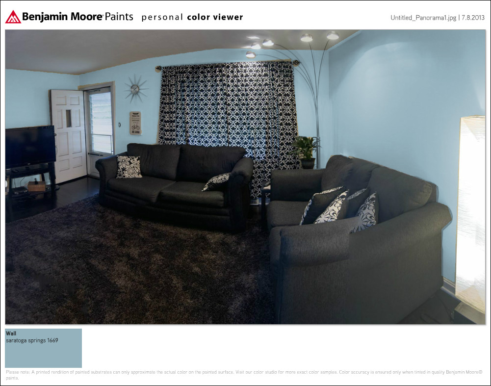 A trip to an actual paint store little cape cod - Benjamin moore exterior paint visualizer ...
