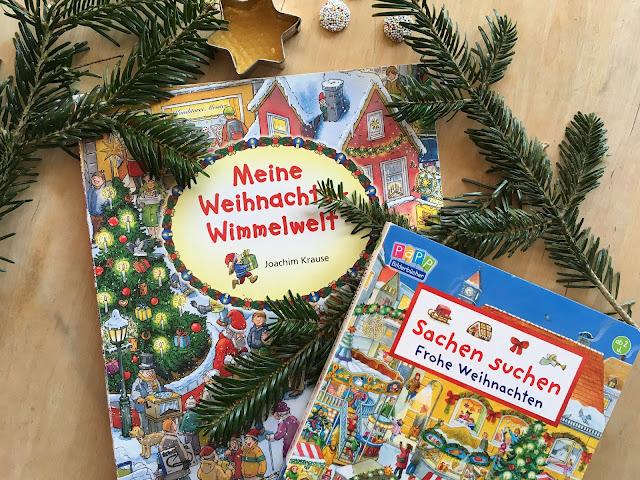 Wimmelbücher zur Weihnachtszeit