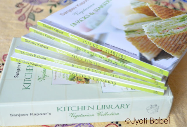 Food Carnival and a Cookbook giveaway – Vegetarian Library Collection by Sanjeev Kapoor
