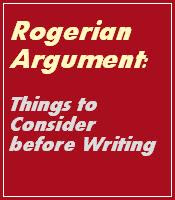 Things to consider before writing Rogerian Argument