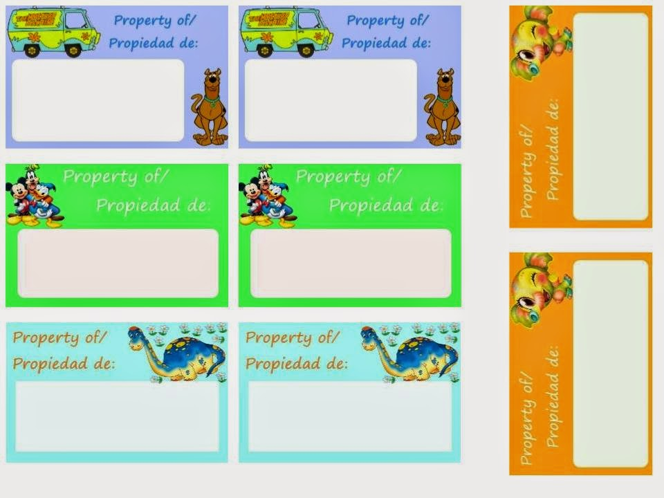 image relating to Printable Backpack Tags named Lifetime within ENGSPANOL: Absolutely free Printable Bilingual Backpack