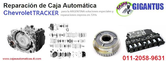 REPARACIÓN DE CAJA AUTOMÁTICA CHEVROLET TRACKER