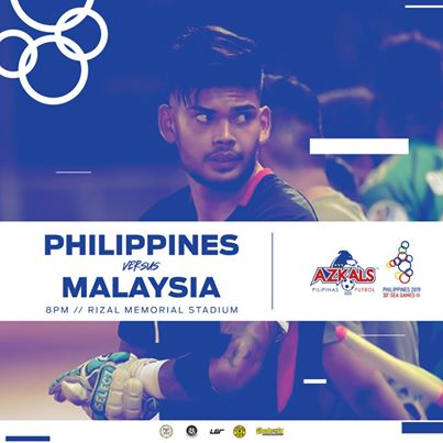 Sea Games Philippine Azkals Vs Malaysia Nov 29 2019