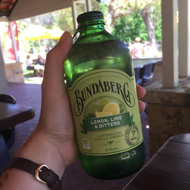 bunderberg lemon and lime, gingeybites