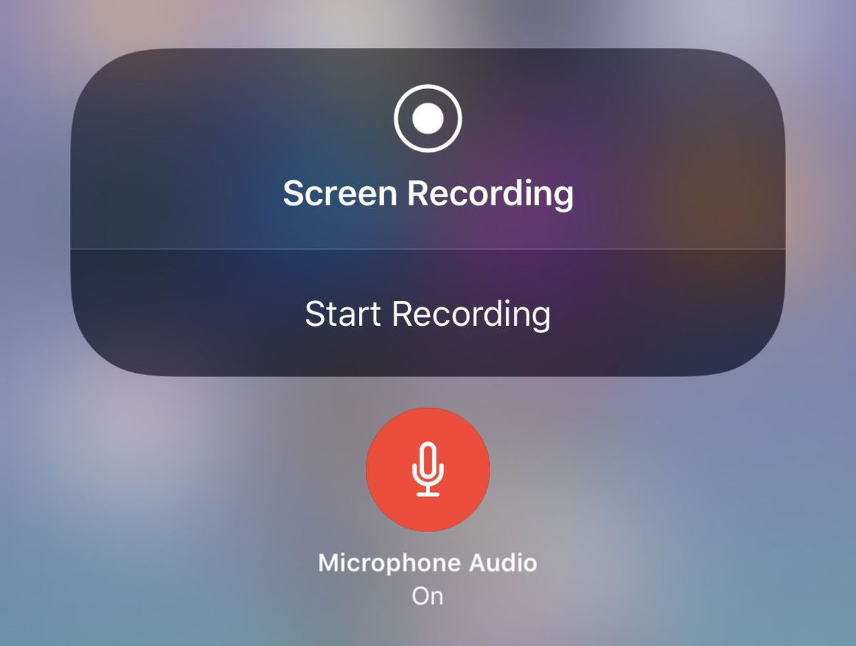 iOS 11.3 Screen recording mute or stops the background music