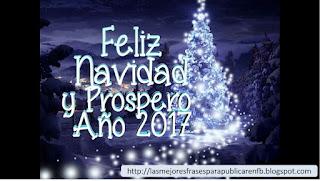 Frases De Navidad Y Año Nuevo: Feliz Navidad Y Prospero Año 2017