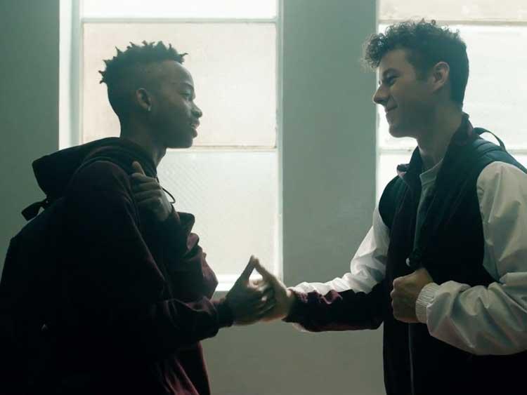 NickALive!: Logic's Video for '1-800-273-8255', Starring ...