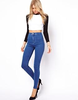 Yüksek Bel Pantolon Nasıl Kombinlenir