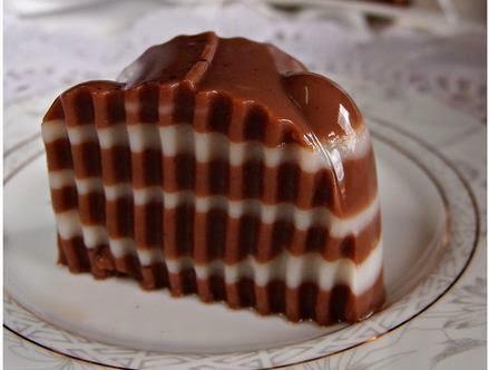 Puding Coklat Milo
