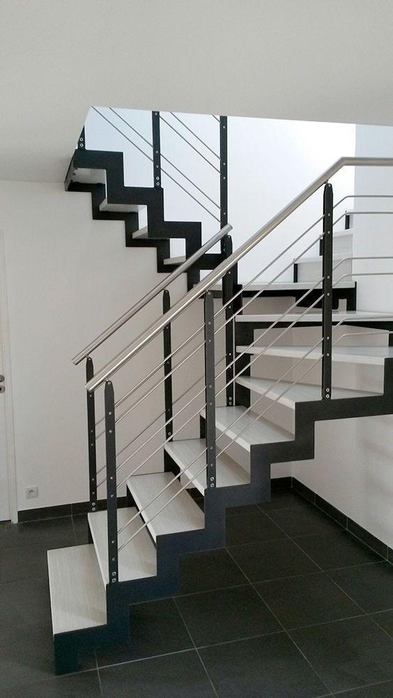 La escalera definici n partes y tipos de arkitectura - Tipo de escaleras ...