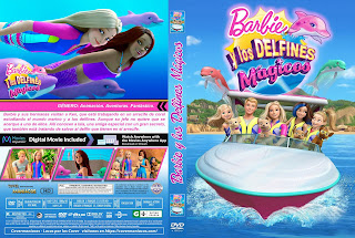 CARATULA BARBIE Y LOS DELFINES MAGICOS - BARBIE: DOLPHIN MAGIC - 2017