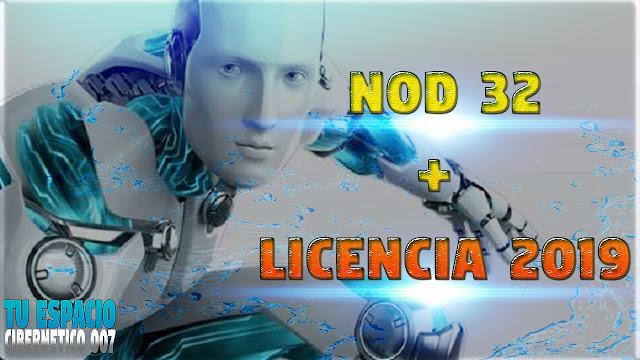 descargar nod32 con licencia 2019