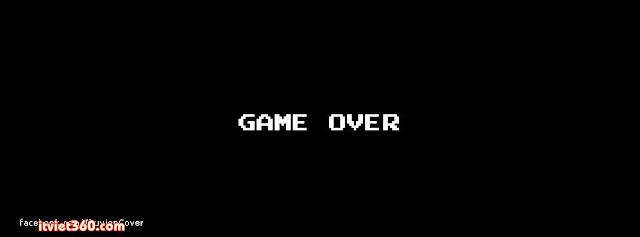 Ảnh bìa cho Facebook độc nhất - Cover FB timeline, game over
