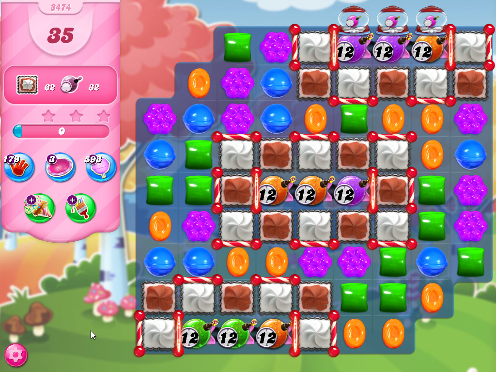 Candy Crush Saga level 3474