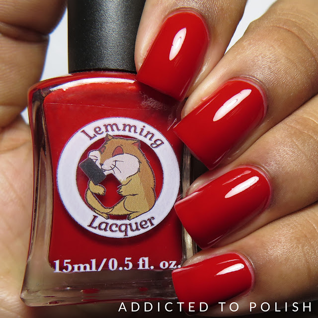 Lemming Lacquer This Life Can Turn a Good Girl Bad Creme-nally Dynamic Collection