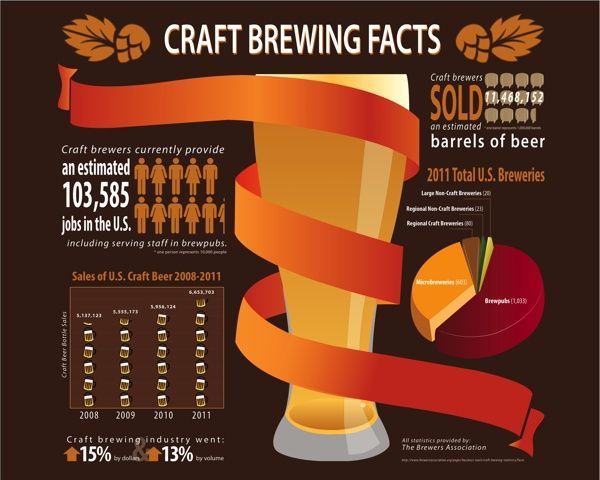 Infographic Ideas infographics definition : MisDosPerros: Beer: A Comparison of Infographics