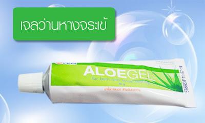 Aloe gel เจลว่านหางจระเข้ องค์การเภสัช