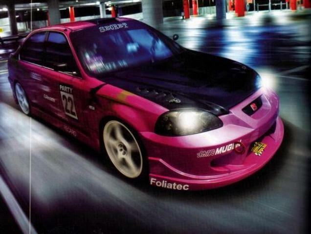 Modifikasi Honda Ferio Metallic