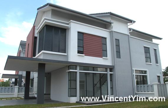 cinet design rumah banglo modern cantik