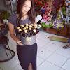 Flowerbox Mawar Hitam