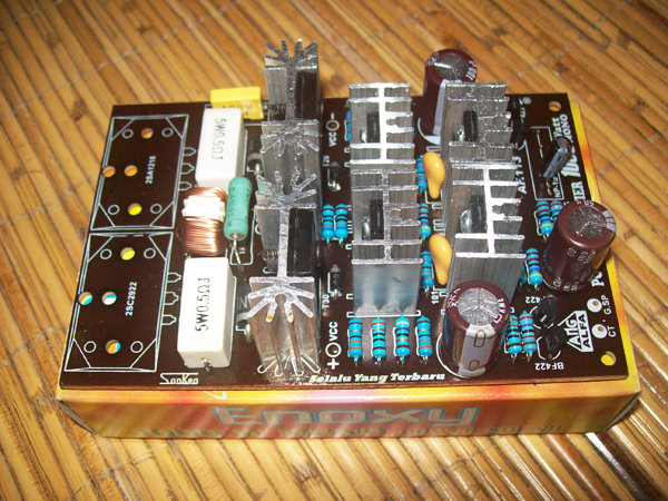 3 Stages Driver 1000W Mono Power Amplifier [ KIT ]