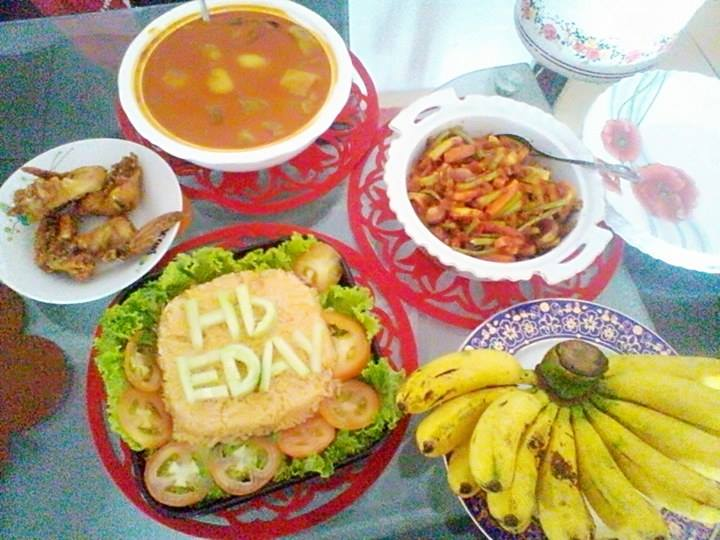 gambar 8 idea makanan sebagai pengganti kek ketika sambutan hari lahir, resepi