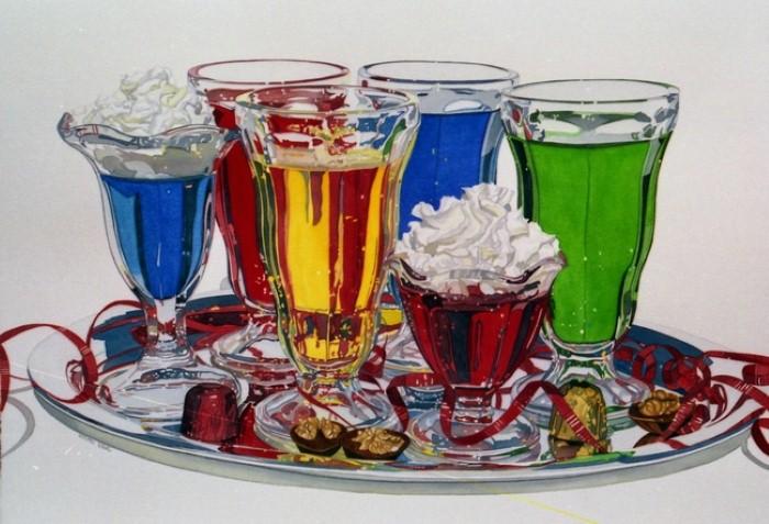 Живопись акварелью и маслом