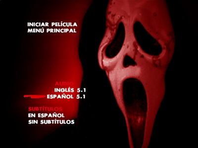 Scream 4 DVDR Menu Full [Español Latino] 2011