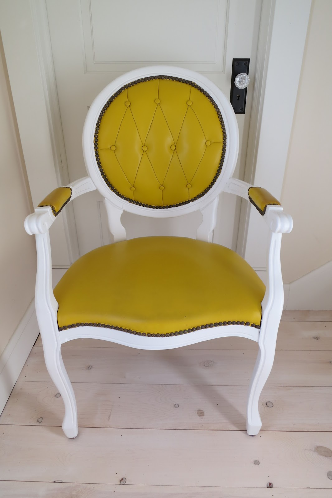 Yellow Side Chair Mimi 39s Vintage Charm The Mustard Yellow Side Chair