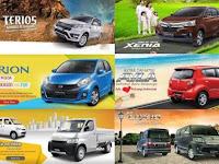 Daftar Harga HET Matahari Dan Kain Klos Mobil Daihatsu