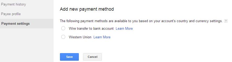 ara Mengubah Settingan Pembayaran Google AdSense Melalui Western Union 4