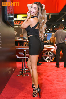 model alexia cortez in Spec-D tuning uniform in 2017 SEMA