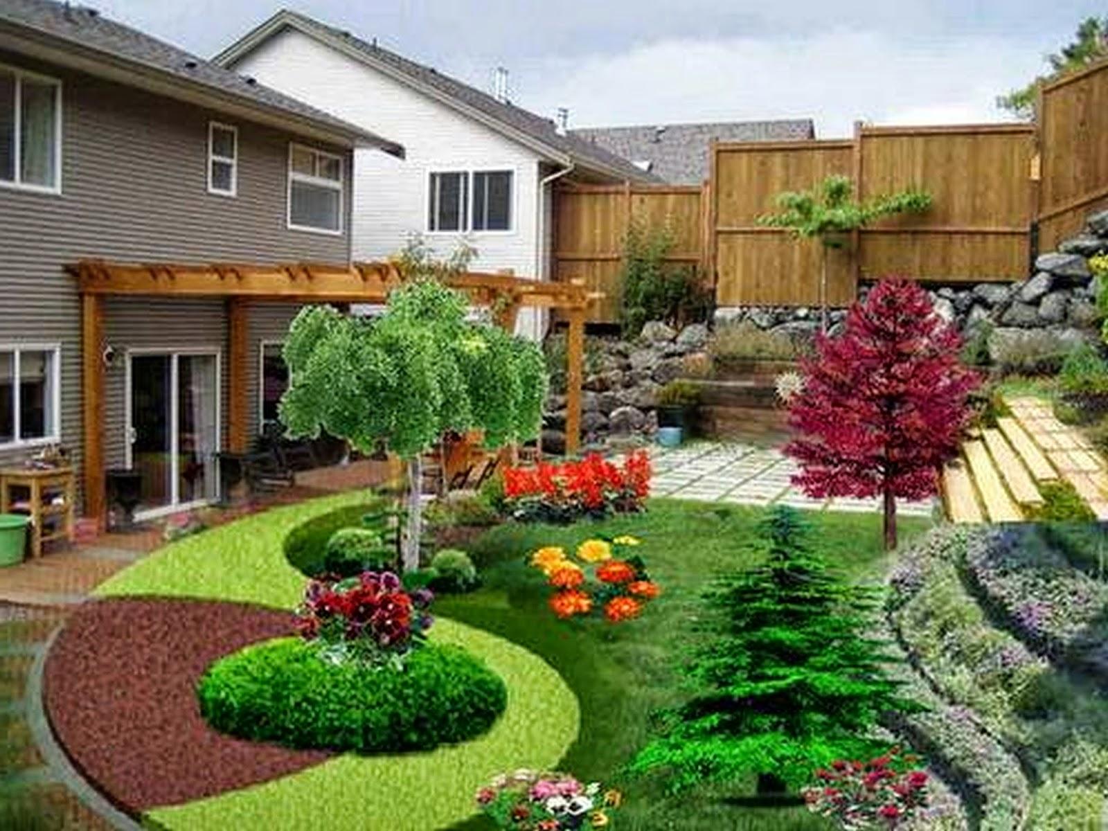 Desain Taman Depan Rumah