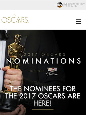 The Oscars 2017 Nominees have been Announced