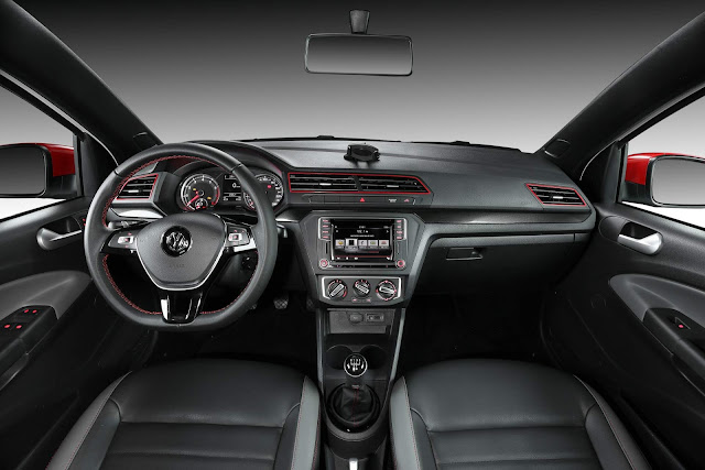 VW Saveiro 2018 Pepper - interior