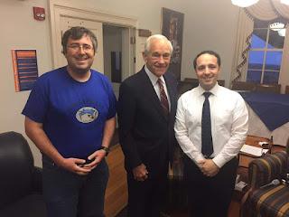William Cooke, Ron Paul, Alex Bush at Gettysburg